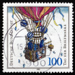 Postage stamp Germany 1992 Balloon Post — Stock Photo