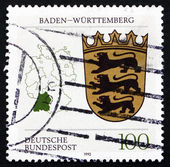 Postage stamp Germany 2002 Coat of Arms, Baden-Wurttemberg — Stock Photo