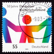 Postage stamp Germany 2003 Protection of Children — Stock Photo