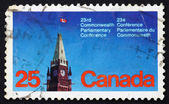 Postage stamp Canada 1977 Peace Tower, Parliament, Ottawa — Stock Photo