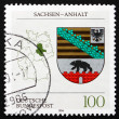 Postage stamp Germany 1994 Coat of Arms, Saxony-Anhalt — Stock Photo