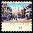 Stock Photo: Postage stamp Germany 2007 View of Furth