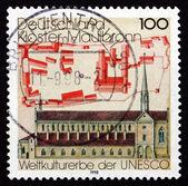 Postage stamp Germany 1998 Cistercian Monastery Maulbronn — Stok fotoğraf