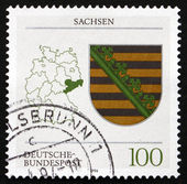 Postage stamp Germany 1994 Coat of Arms, Saxony — Stock Photo
