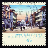 Postage stamp Germany 2007 View of Furth — Stock Photo