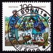 Stock Photo: Postage stamp Germany 1991 Postman, Spreewald Region