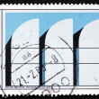 Stock Photo: Postage stamp Germany 1983 Bauhaus Archives, Berlin