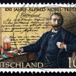 Postage stamp Germany 1995 Alfred Nobel — Stock Photo