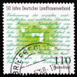 Postage stamp Germany 1998 German Rural Women's Association — Stock Photo