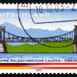Stock Photo: Postage stamp Germany 2003 Salzach River Bridge