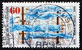 Postage stamp Germany 1980 Ship's Rigging — Stock Photo
