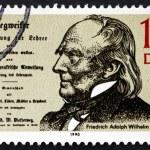 Постер, плакат: Postage stamp GDR 1990 Friedrich Adolph Diesterweg Educator