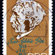 Postage stamp GDR 1990 Otto Schott, Chemist and Inventor — Stock Photo