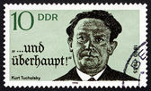 Postage stamp GDR 1990 Kurt Tucholsky, Novelist, Journalist — Stock Photo