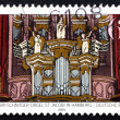 Postage stamp Germany 1989 St. James Church Organ, Hamburg — Stock Photo