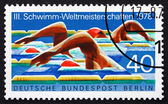 Postage stamp Germany 1978 Swimmers — Stock Photo