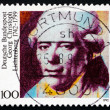 Stock Photo: Postage stamp Germany 1992 Georg Christoph Lichtenberg, Physicis