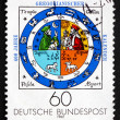 Postage stamp Germany 1982 Calendar Illumination, by Johannes Ra — Stock Photo #35009879