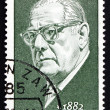 Postage stamp GDR 1972 Johannes Tralow, Playwright — Stock Photo #35128583