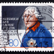 Postage stamp Germany 1986 Frederick the Great, King of Prussia — Stock Photo