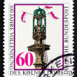 Stock Photo: Postage stamp Germany 1980 Completion of Cologne Cathedral
