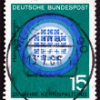 Postage stamp Germany 1964 Reactor in Operation — Stock Photo #35270579