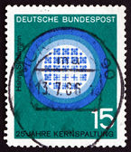 Postage stamp Germany 1964 Reactor in Operation — Stock Photo