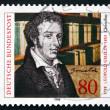 Постер, плакат: Postage stamp Germany 1988 Leopold Gmelin Chemist