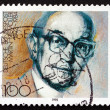 Postage stamp Germany 1992 Martin Niemoller, Theologian — Stock Photo