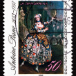 Postage stamp Germany 1983 Portrait of Barbara Campanini, Painti — Stock Photo