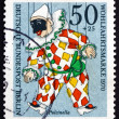 Postage stamp Germany 1970 Pulcinella, Puppet — Stock Photo