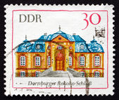 Postage stamp GDR 1969 Rococo Palace, Dornburg — Stock Photo