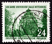 Postage stamp GDR 1952 Halle University — Stock Photo