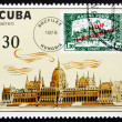Postage stamp Cuba 1978 Parliament, Hungary, Budapest — Stock Photo