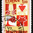 Postage stamp France 1975 Industry of Burgundy — Stock Photo