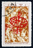 Postage stamp Cuba 1970 Petroglyphs in Cuban Cave — Stock Photo
