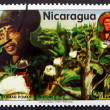 Postage stamp Nicaragua 1980 German Pomares Ordonez, Revolutiona — Stock Photo