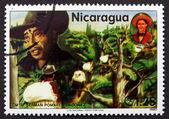 Postage stamp Nicaragua 1980 German Pomares Ordonez, Revolutiona — Stock Photo