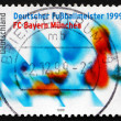 Stock Photo: Postage stamp Germany 1999 Bayern Munchen, GermSoccer Champio