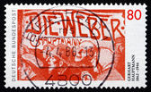 Postage stamp Germany 1987 Gerhart Hauptmann, Playwright — Stock Photo