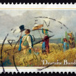 Postage stamp Germany 1985 The Sunday Walk, by Carl Spitzweg — Stock Photo