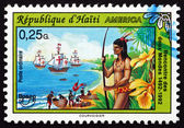 Postage stamp Haiti 1993 Discovery of America — Photo
