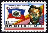 Postage stamp Haiti 1988 Charlemagne Peralte, Haitian Hero — Stock Photo