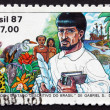 Stock Photo: Postage stamp Brazil 1987 Descriptive Treatise of Brazil