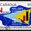 Postage stamp Nicaragua 1975 Fight against Illiteracy — Stock Photo