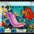 Postage stamp Australia 1995 Nudibranch — 图库照片