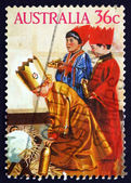 Postage stamp Australia 1986 Three Kings, Christmas — Stock Photo