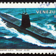 Postage stamp Venezuela 1980 Submarine Picua — Stock Photo