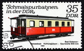 Postage stamp GDR 1980 Passenger Car, Light Rail — Stock Photo