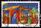 Postage stamp Belgium 2001 Nativity, Christmas — Photo